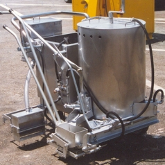 Model 120 Line Marking Screed Machine